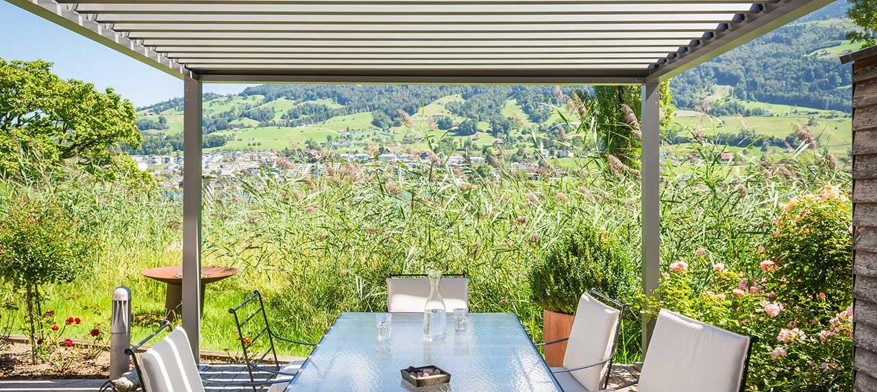 Pavillon terrasse Vaud Suisse